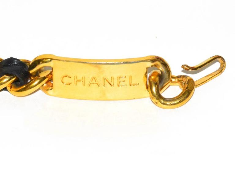 Classic Vintage Chanel Medallion Belt In Excellent Condition For Sale In Teaneck, NJ