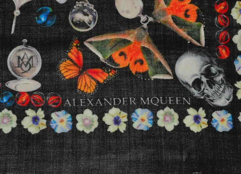 Most Amazing Cashmere Alexander McQueen Huge Shawl 2
