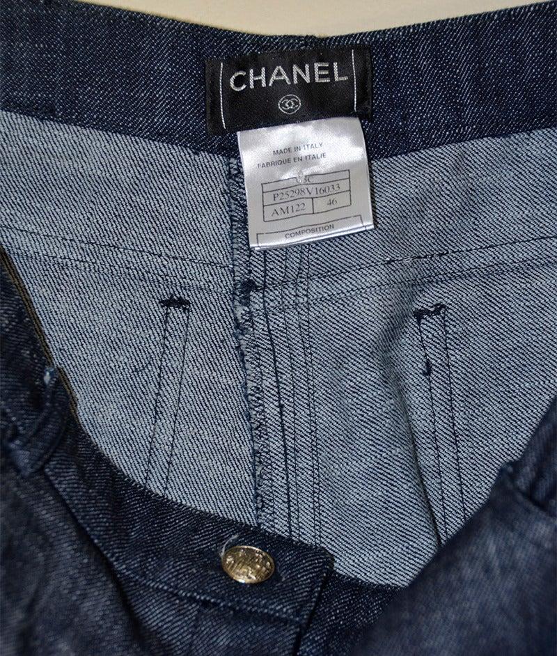 Black Chanel Jeans