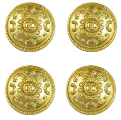 Rare Set of 4 Iconic Chanel Buttons