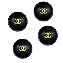 Amazing Chanel Leather Buttons
