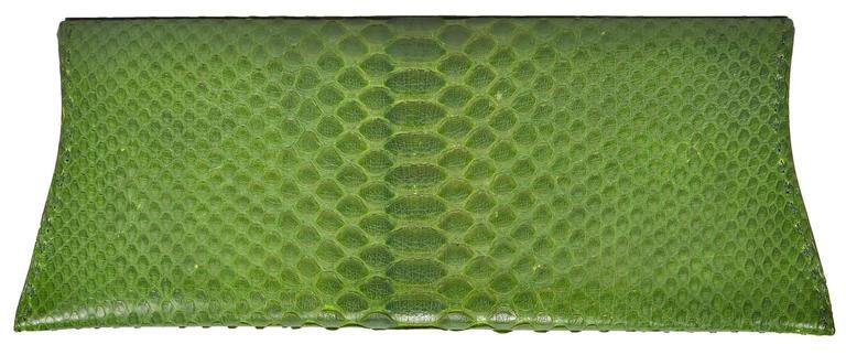 Spring Green Python VBH Clutch 2