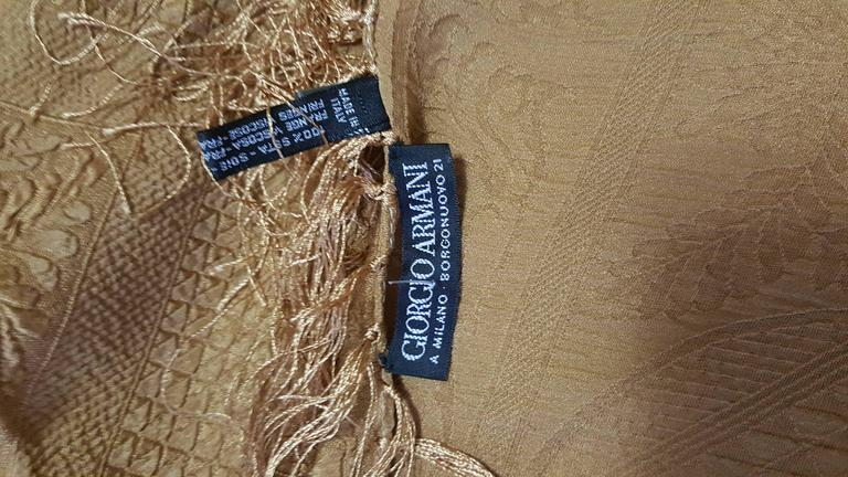 Amazing Armani Textured Silk Shawl 3