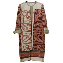Mary McFadden Hand Painted Coat