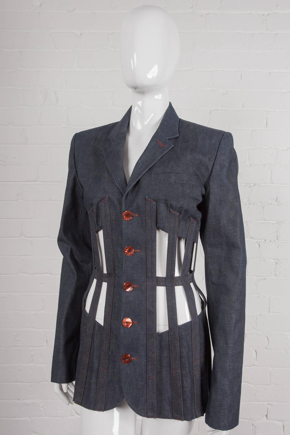 Jean paul gaultier iconic 1989 les rap pieuses cage for House of liza