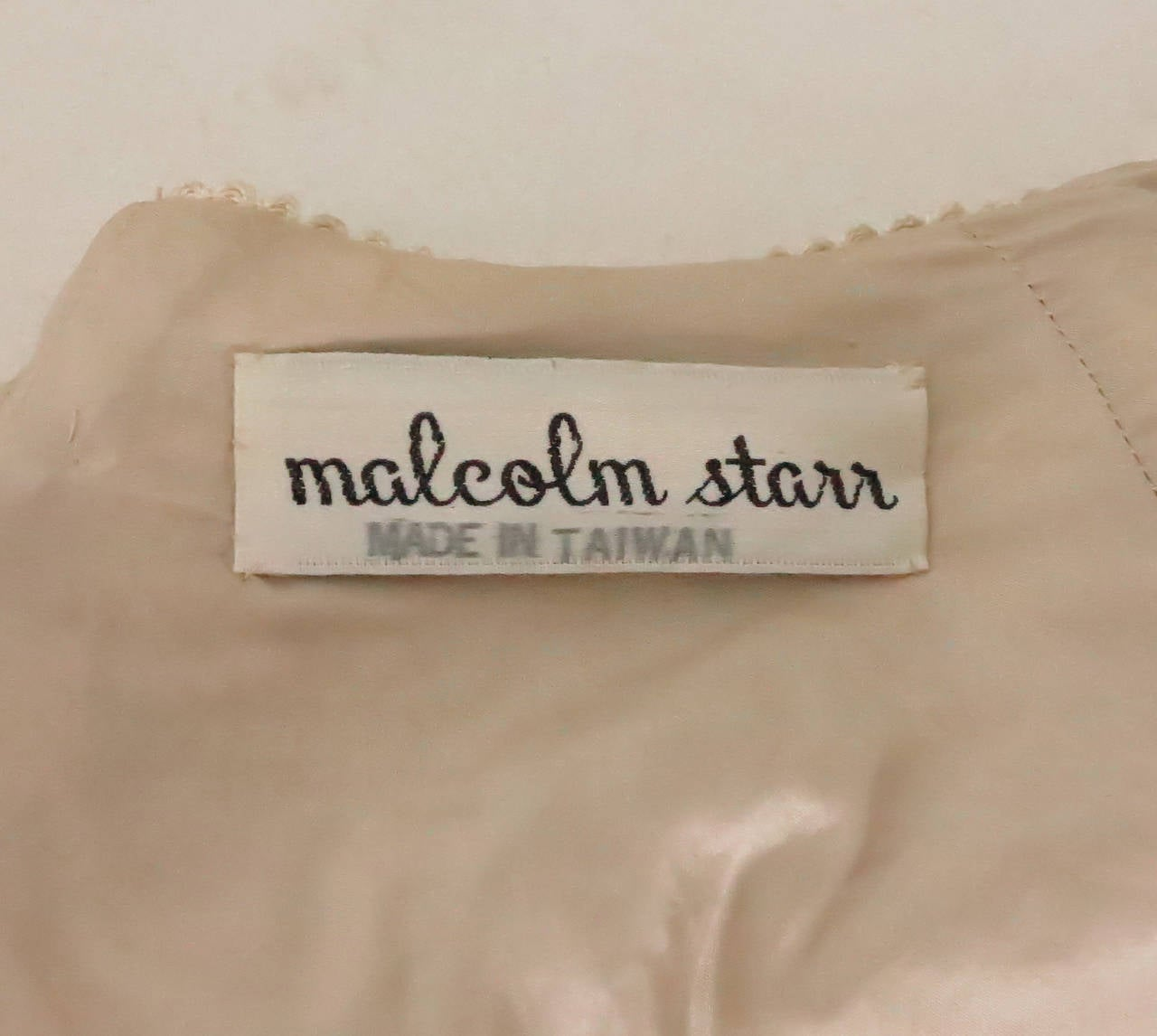 Rare Malcolm Starr corded cropped lace jacket 1960s 10