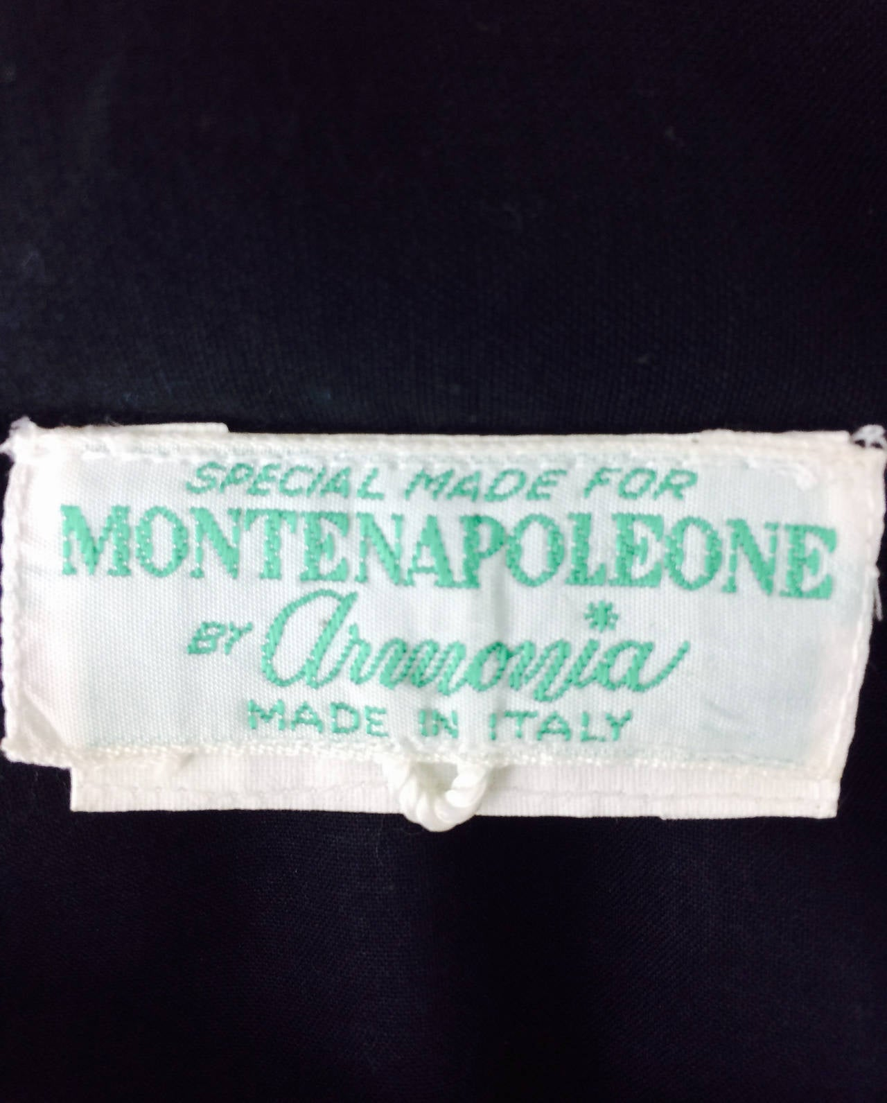 1980s Montenapoleone by Armonia Italy fine cotton shift dress 10