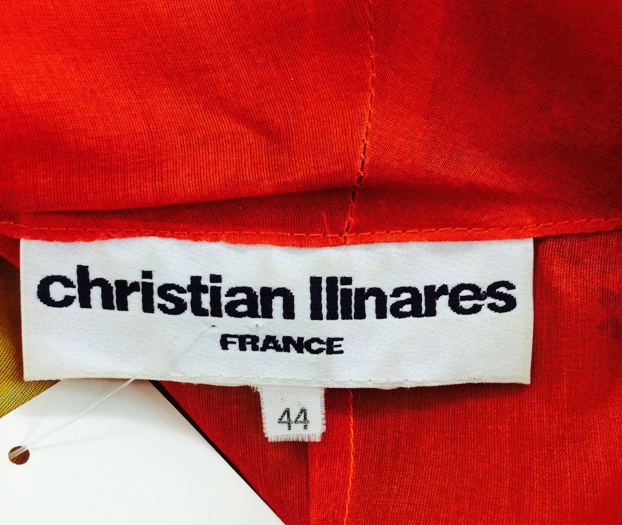 Christian Llinares France floral organza blouse 1980s For Sale 5