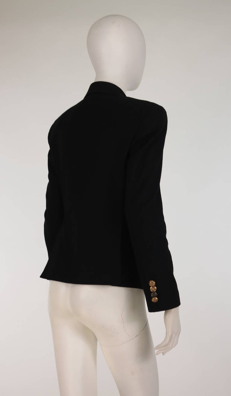Paul Smith Classic navy blue double breasted blazer 4