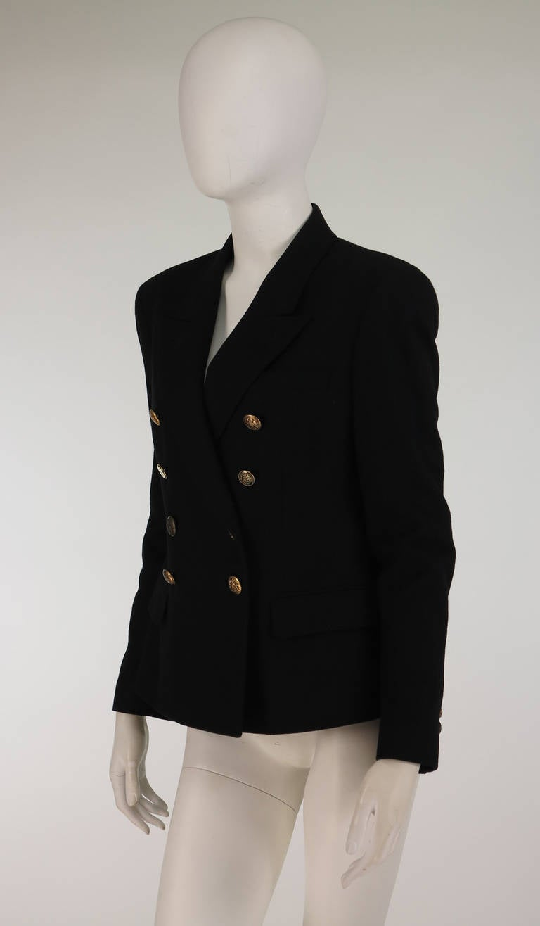 Paul Smith Classic navy blue double breasted blazer 7