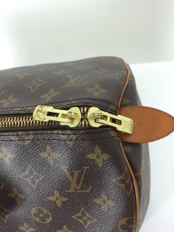 Black Louis Vuitton monogram canvas Keepall 55  For Sale