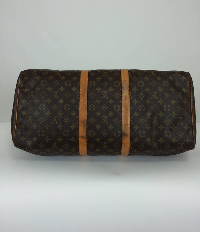 Louis Vuitton monogram canvas Keepall 55  For Sale 5