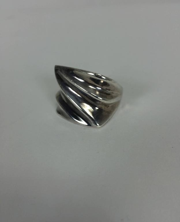 musulin chunky sterling silver ring 6 for