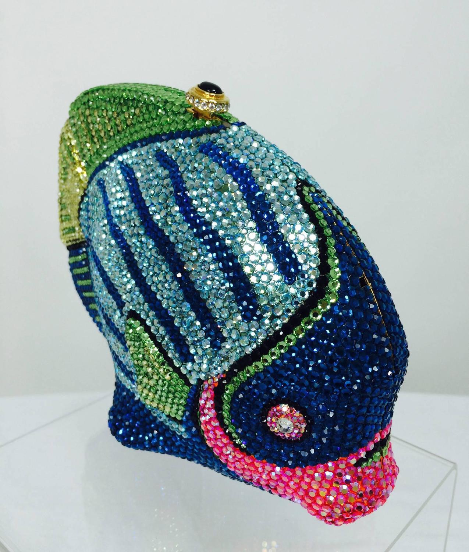 Kathrine Baumann Beverly Hills Crystal Jeweled angel fish ...