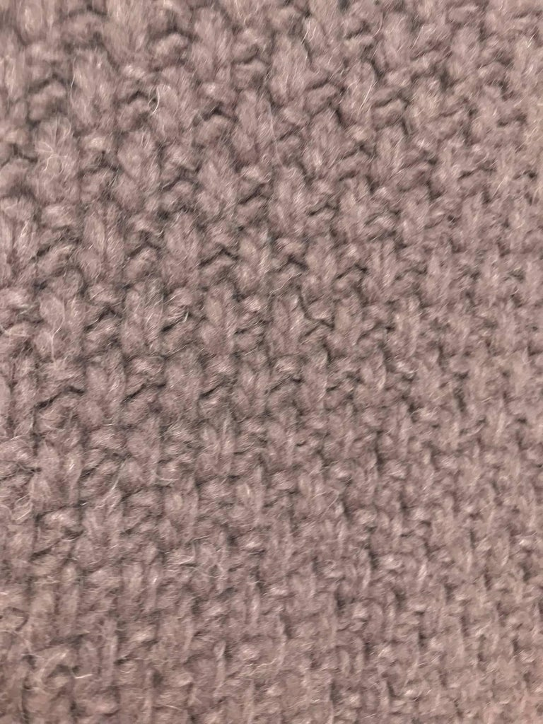 The Row chunky knit cashmere basket weave sweater For Sale at 1stdibs