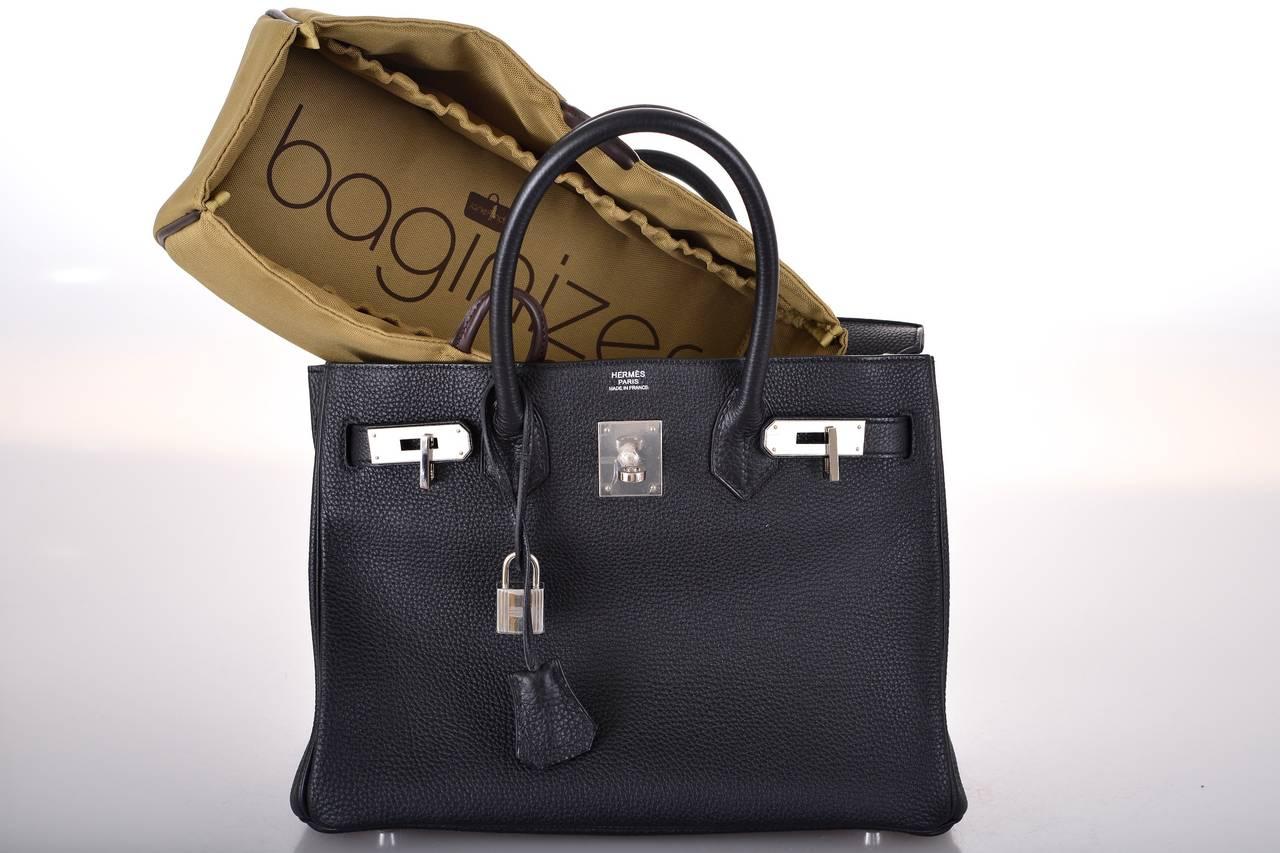 hermes birkin bags for sale - SUPAFIND! HERMES BIRKIN BAG 30cm BLACK WITH PALLADIUM HARDWARE ...