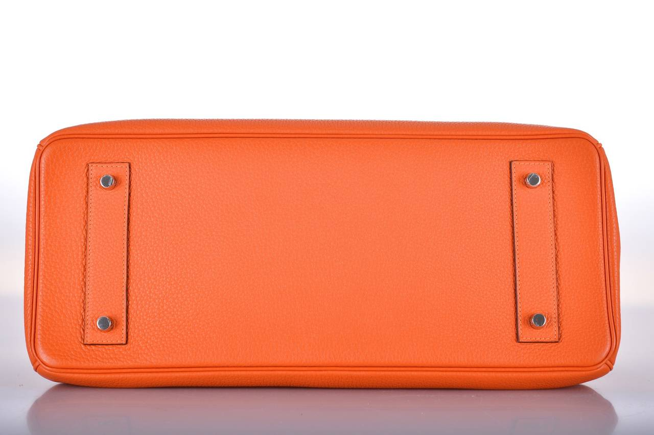 hermies bag - HERMES BIRKIN BAG SHOULDER JPG ORANGE 42cm #2 PALL HARDWARE ...