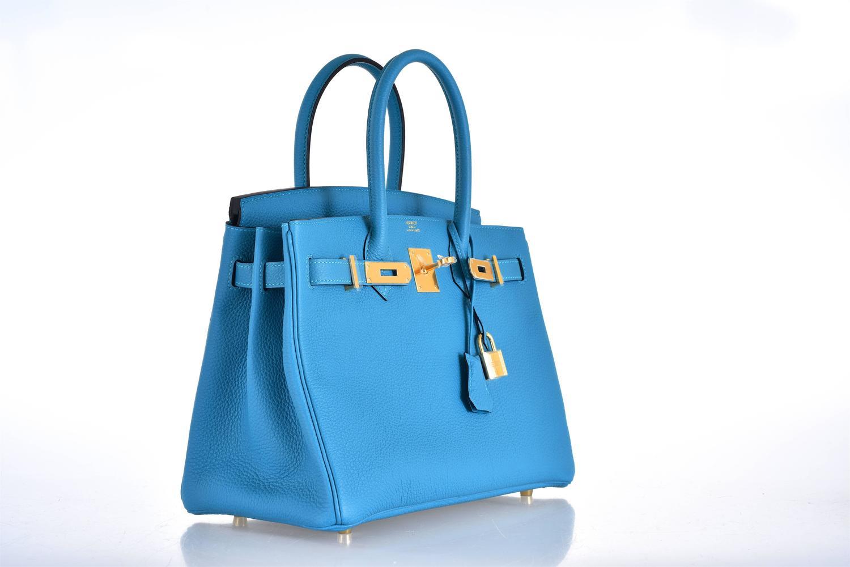 hermes for sale  - hermes birkin turquoise togo 30cm gold hardware, red birkin bag