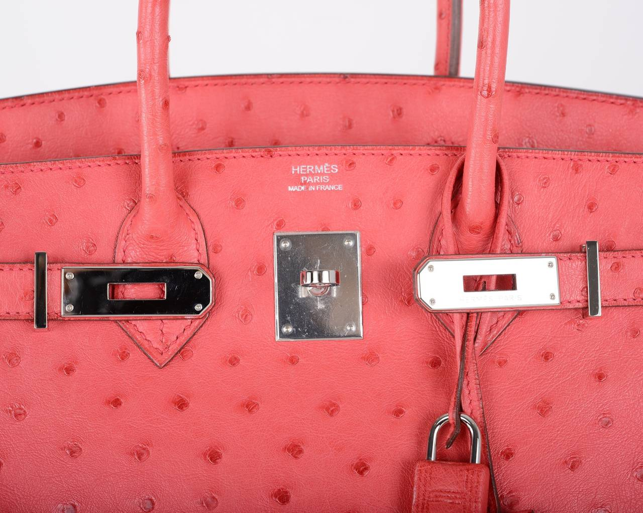kelly wallet hermes - AMAZING HERMES BIRKIN BAG BOUGENVILLE OSTRICH and PALLADIUM 30cm ...