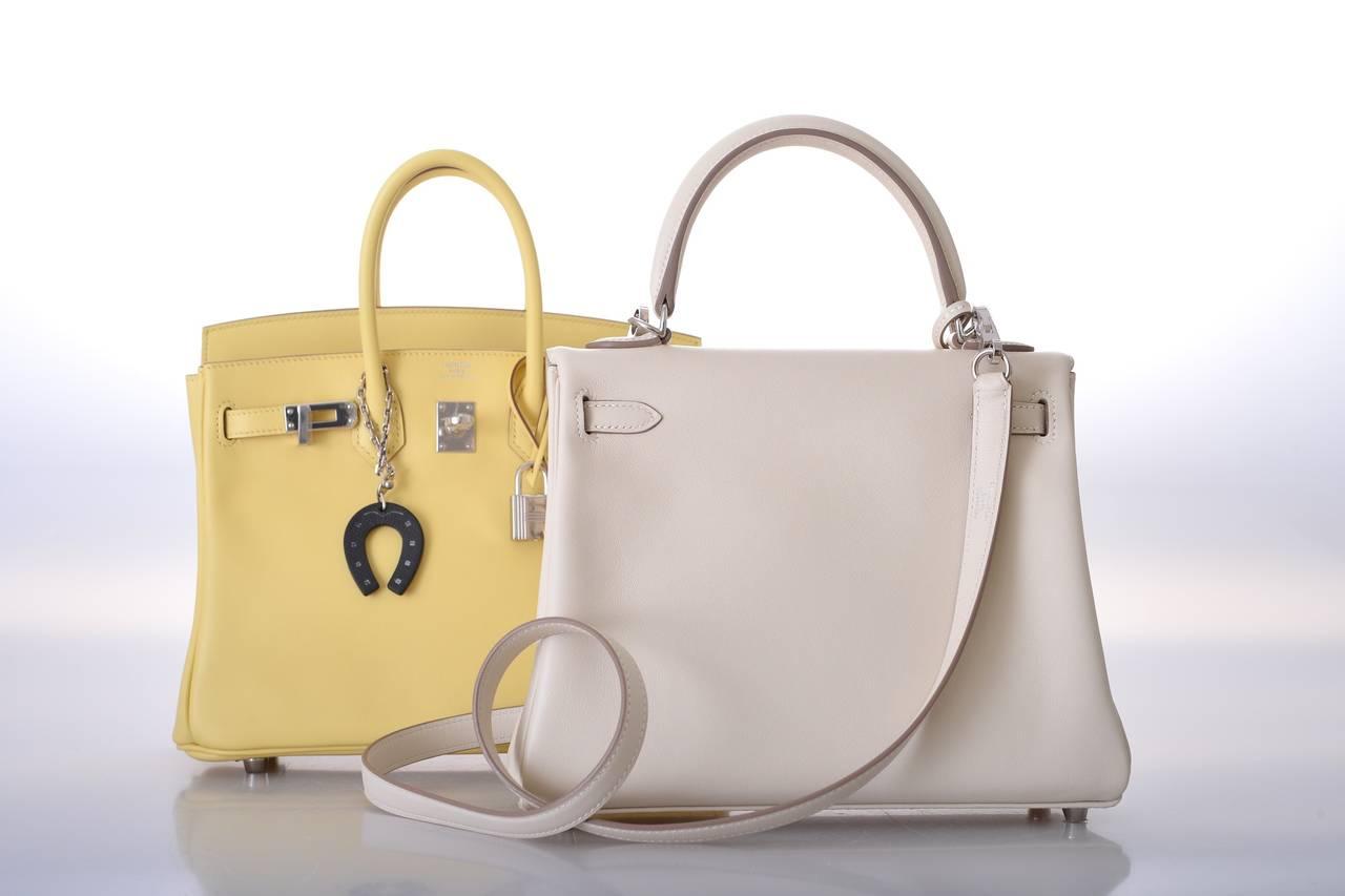 hermes kelly bag 25cm craie swift gold hardware