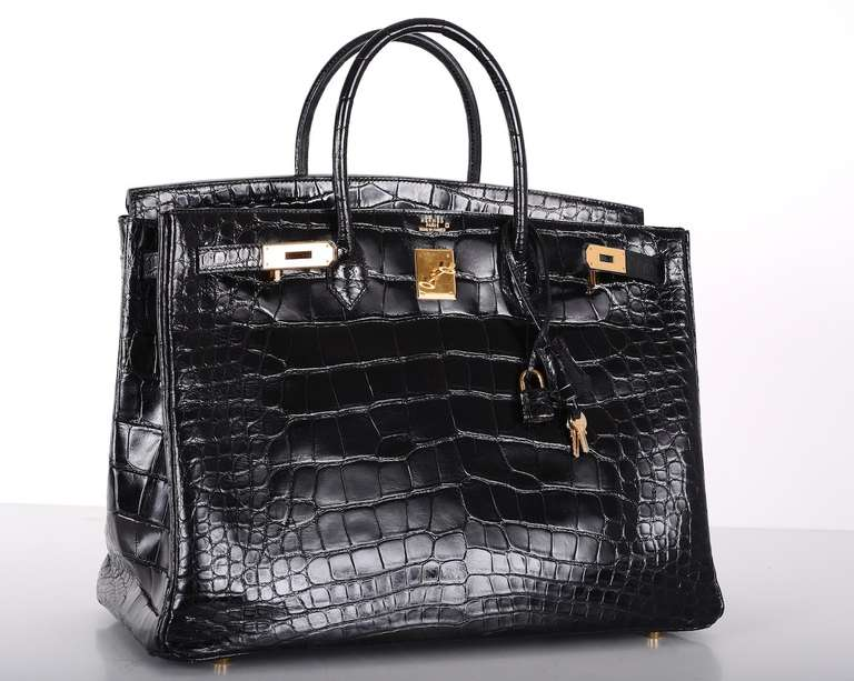 black hermes handbag