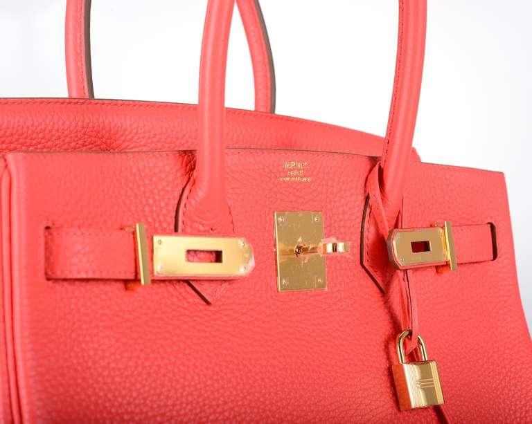 replica hermes handbags birkin - HERMES BIRKIN BAG 30cm ROSE JAIPUR GOLD HARDWARE GOTTA C THIS ...
