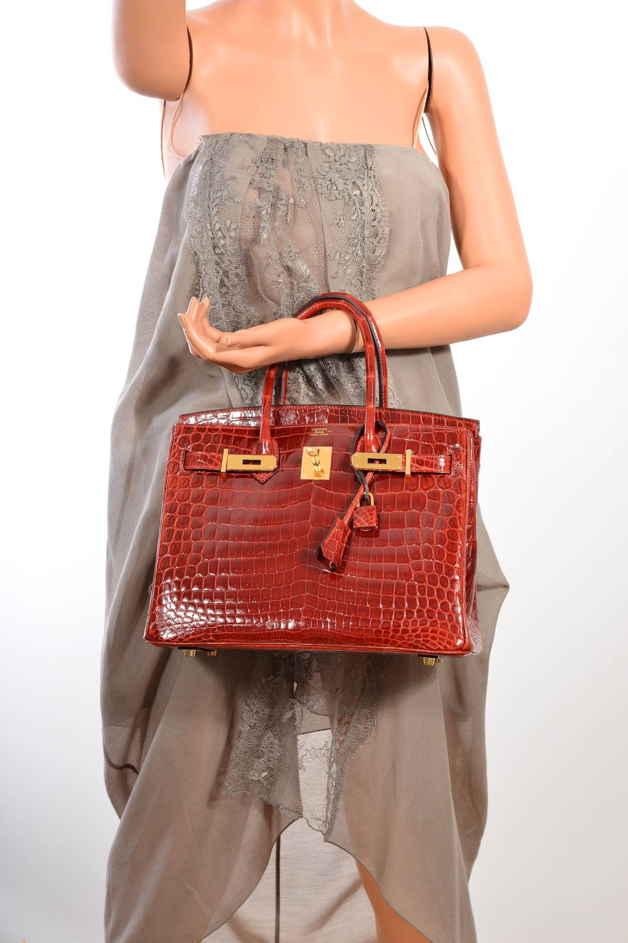 kelly hermes - hermes birkin 30 rouge h vintage with gold hardware