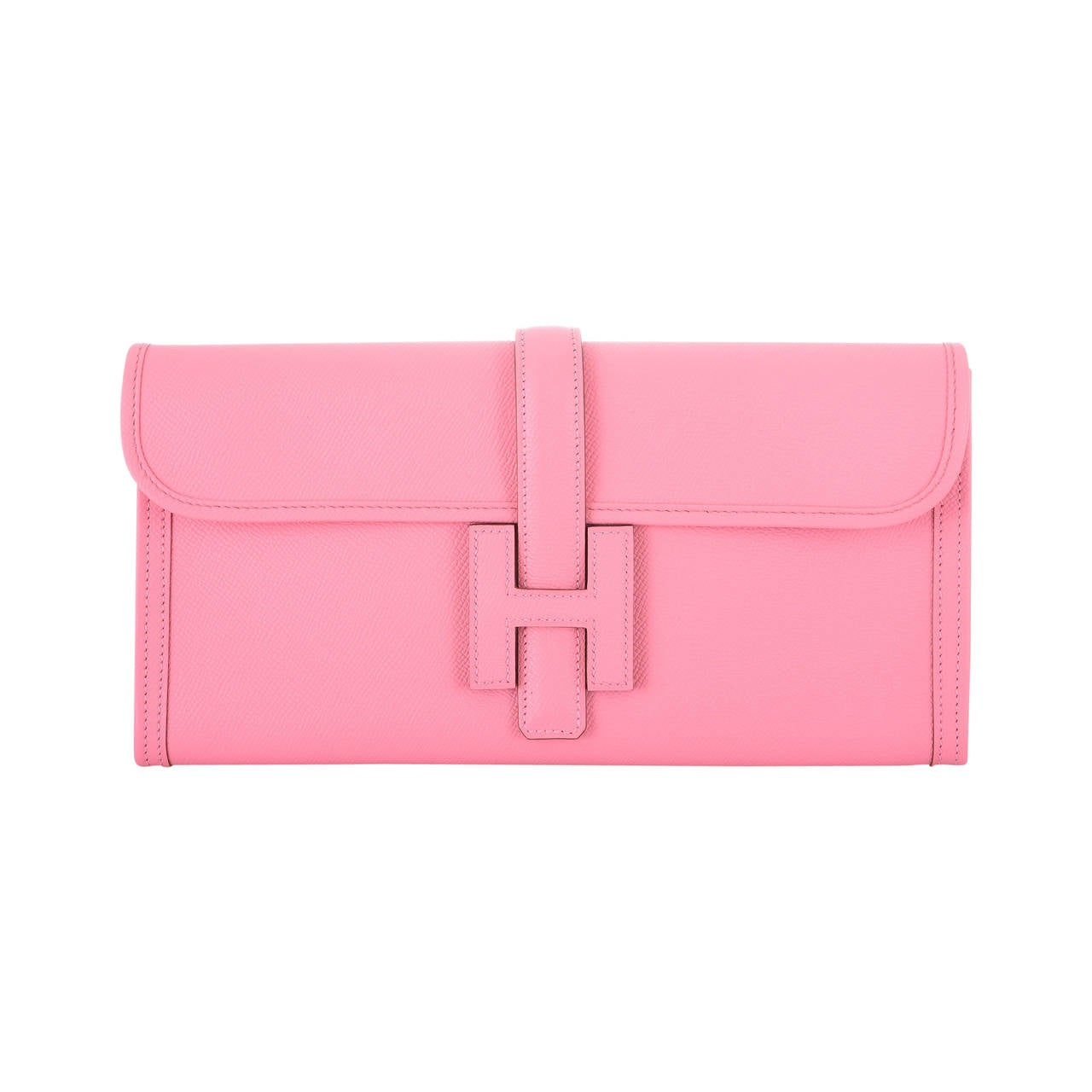 birkin bag knockoff - HERMES JIGE ELAN 29CM ROSE CONFETTI STUNNING CLUTCH JaneFinds For ...