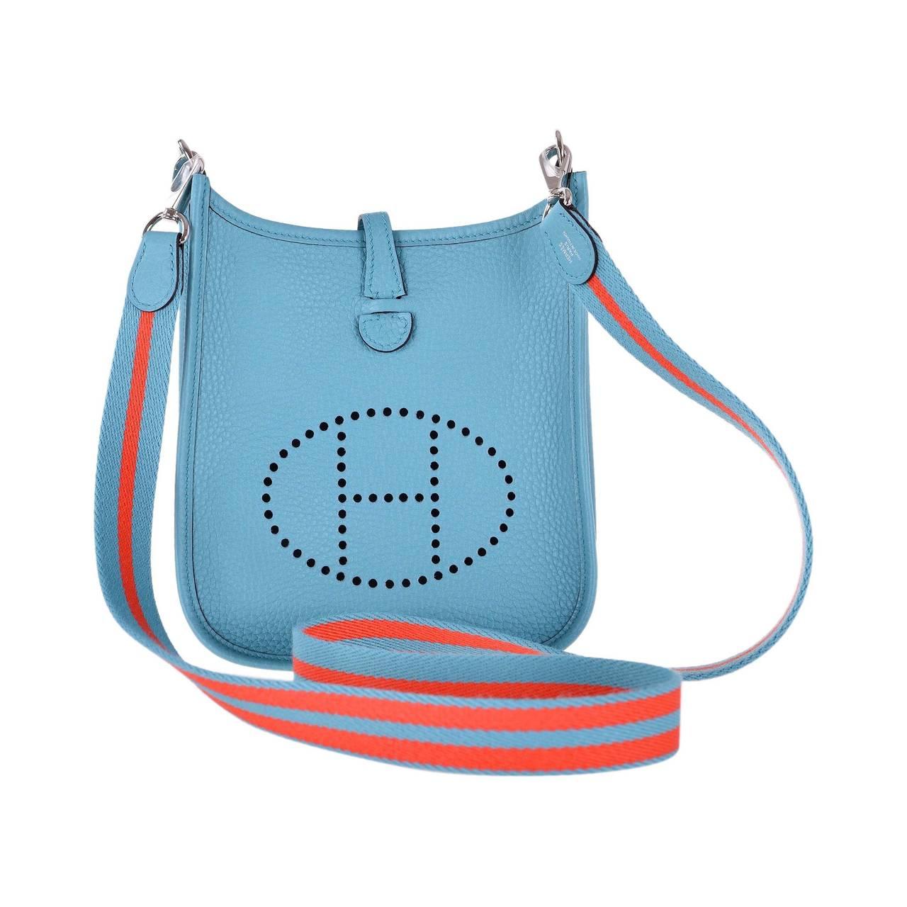 Hermes Evelyne Mini Birkin Bags Replica