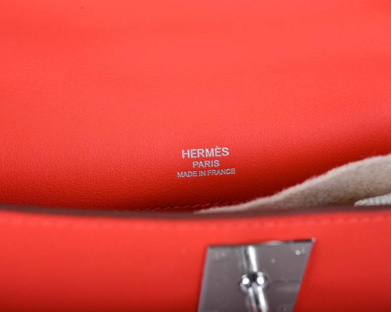 tasche hermes - hermes ficelle shiny alligator mini kelly pochette, the kelly purse