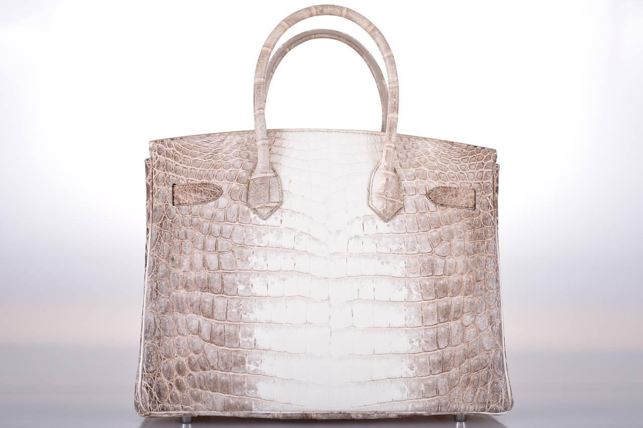 hermes wallets - HERMES BIRKIN BAG 30cm MATTE HIMALAYAN CROCODILE 18K and DIAMOND ...