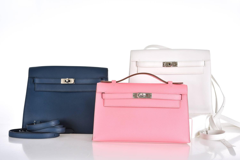 cheap hermes bag - Hermes Kelly Danse White Super Rare Wear it 7 WAYS JaneFinds at ...