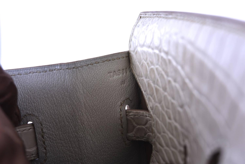 hermes crocodile bag - Hermes 35cm Birkin Bag Beton Porosus crocodile insane! JaneFinds ...