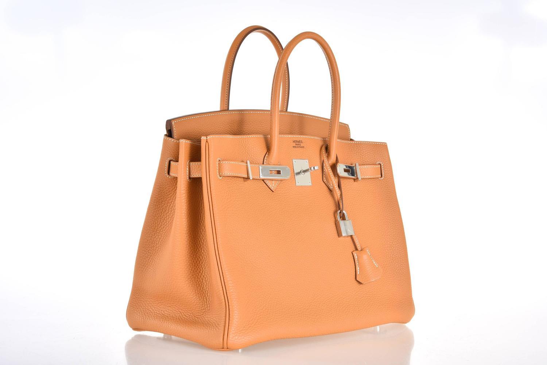 birkin bag replica for sale - Hermes 35cm Birkin Sable with Heat stamp palladium hardware ...