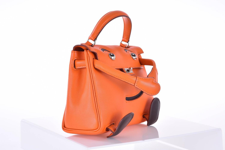the kelly bag price - Hermes Kelly Doll Bag Orange Idole (Kelly Doll) Gulliver Orange ...