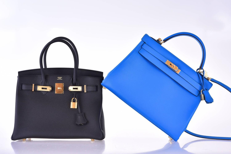Hermes Birkin Bag 30cm Black Togo Gold Hardware JaneFinds at 1stdibs