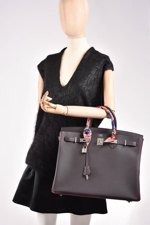 hermes crocodile birkin bag replica - Hermes Birkin Bag HSS Special Order 40CM Graphite and Tosca ...