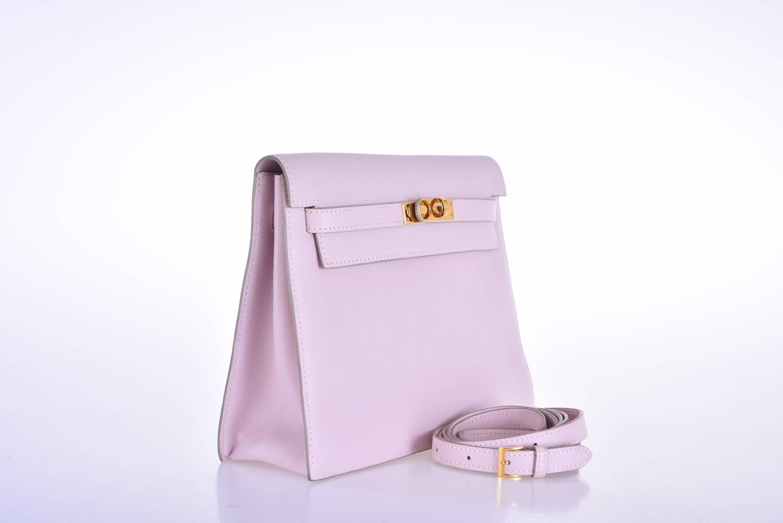 hermes inspired bag - Hermes Kelly Danse Pink Dragee Swift Leather super rare gold ...