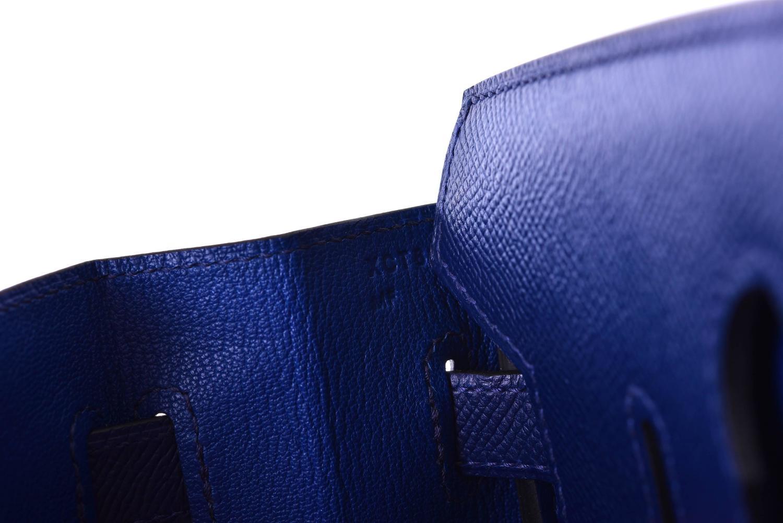 hermes birkin purse blue sapphire