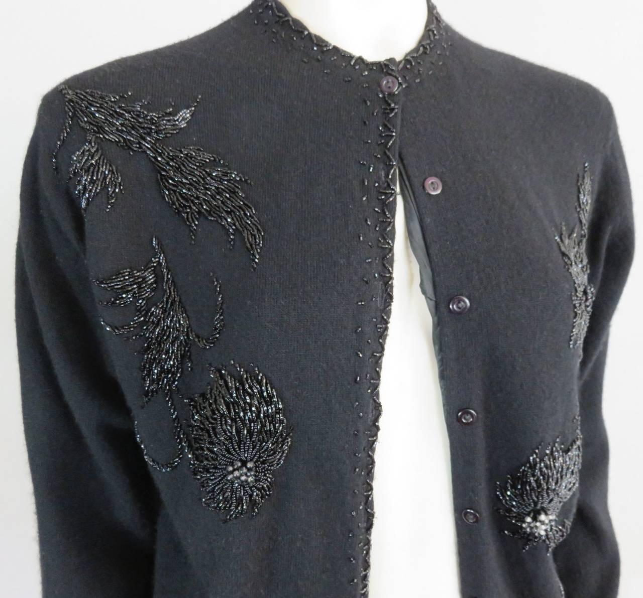 Beaded Cardigan Sweaters