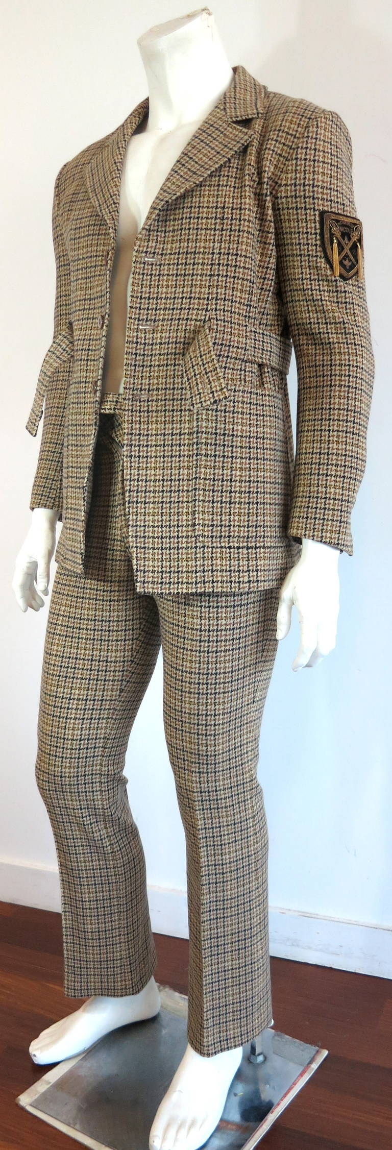 Vintage MATSUDA 'Monsieur Nicole' men's wool suit For Sale ...