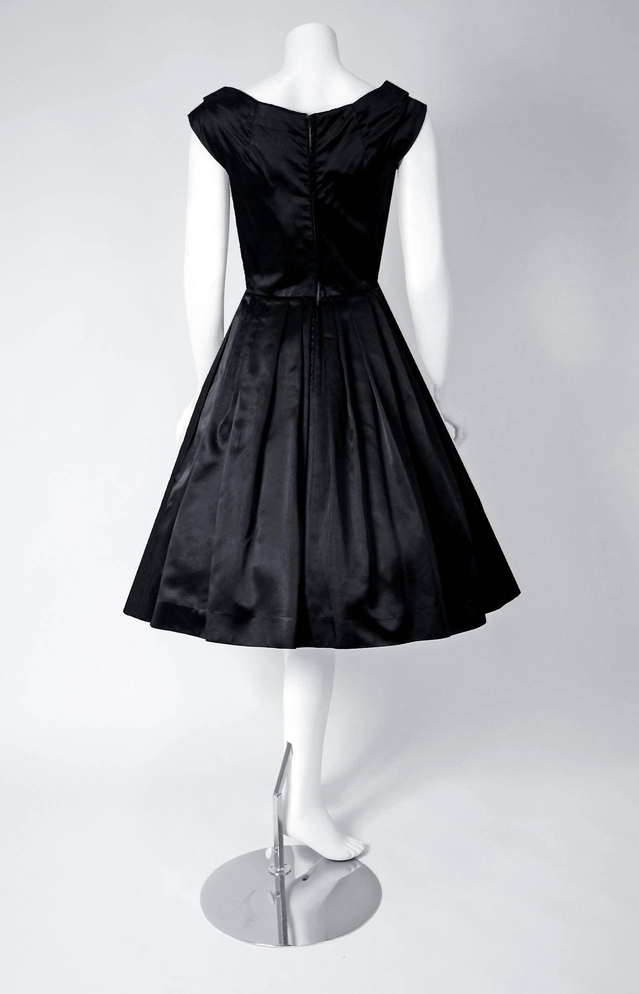 d4298f16a98 Black Dior Style Dresses