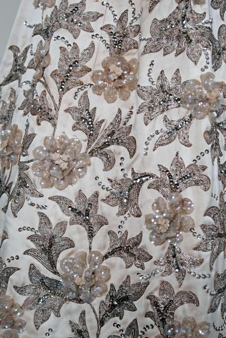 S pedro rodriguez haute couture champange embroidered