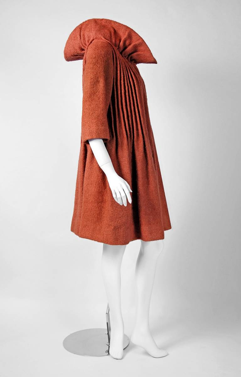 1958 pierre cardin haute couture documented butterscotch for Haute couture clothing