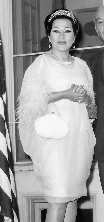 1960's Documented Yma Sumac Yellow Silk-Chiffon & Ostrich-Feather Caftan Dress 2