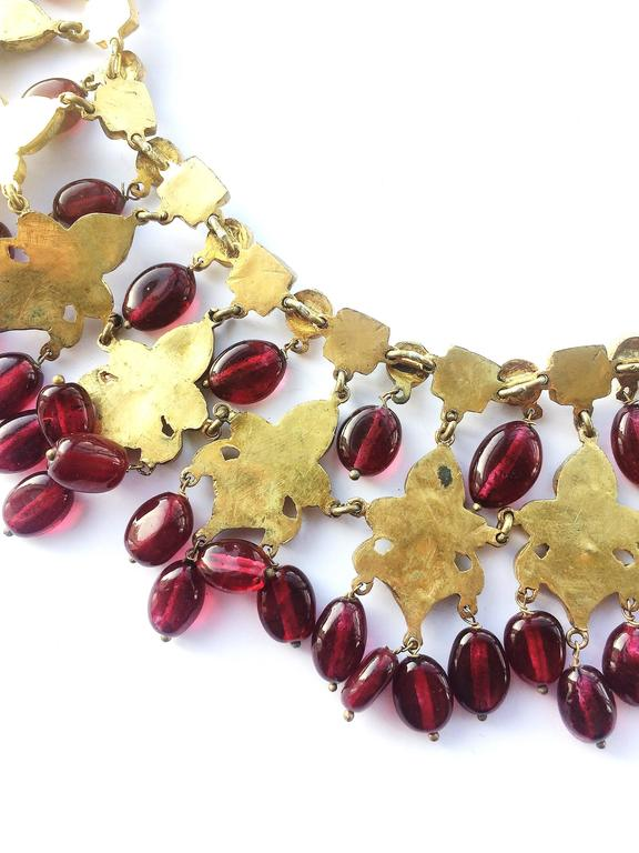 Kenneth Jay Lane Moghul style necklace, 1960s 8