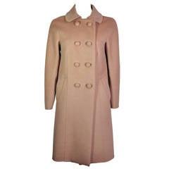 Prada Classic Double-breast Wool-blend Coat