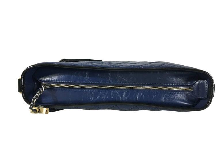 Chanel Black/Navy Gabrielle Large Hobo Bag New For Sale 2