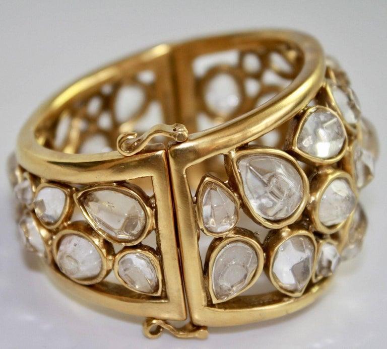 """Goossens Paris Rock Crystal """"Cachmere"""" Bracelet 3"""
