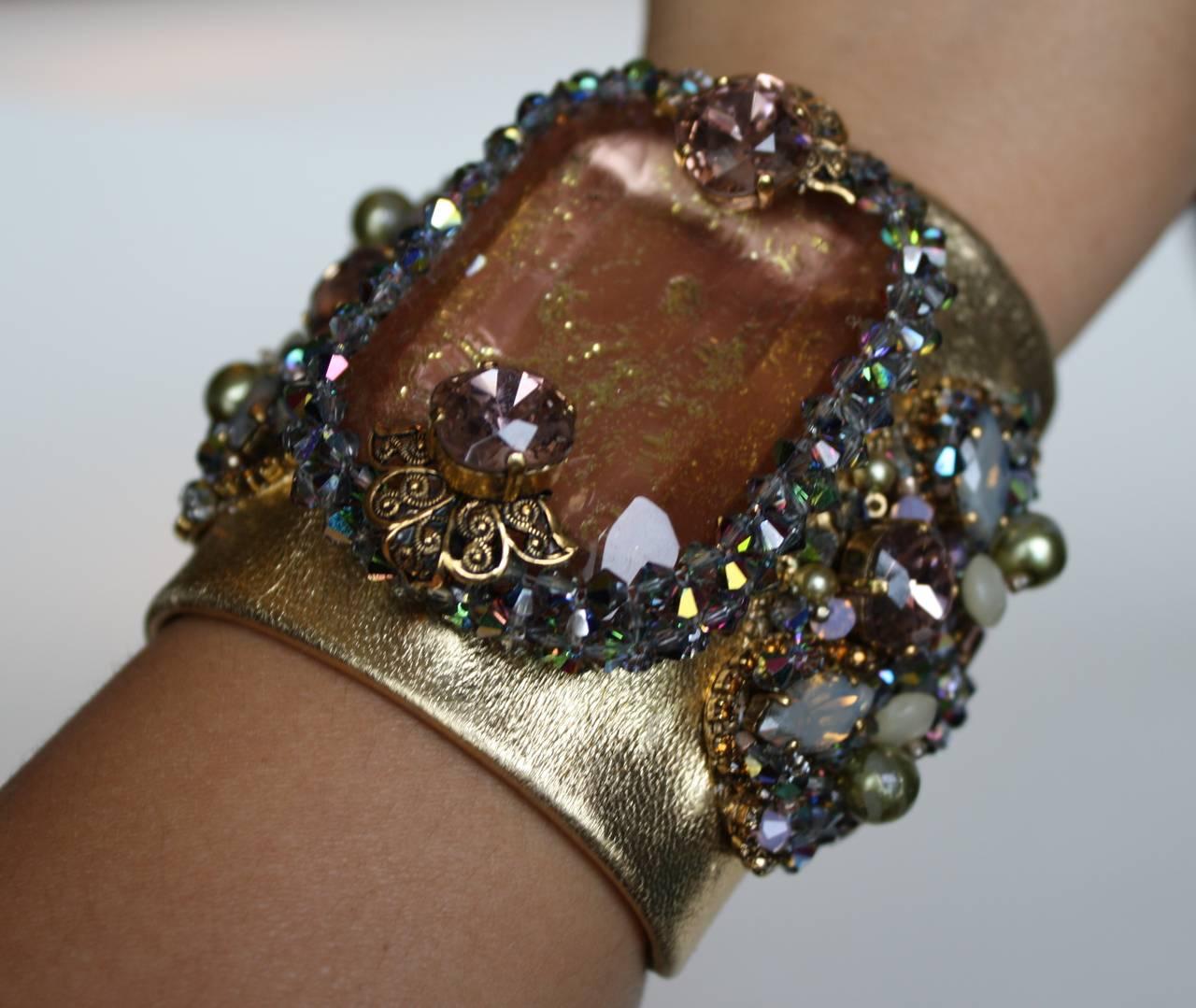 Erickson Beamon Xanadu Cuff Bracelet 3
